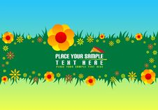 Free Floral Banner Stock Photo - 5645880