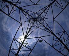Free Electricity Pylon Royalty Free Stock Photo - 5645885
