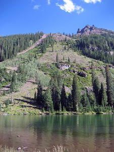Free Mountain Lake Royalty Free Stock Image - 5646596
