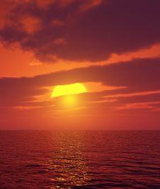 Free Beautiful Sunset Stock Photography - 5646892