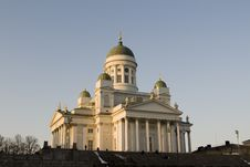 Free Helsinki Cathedral Royalty Free Stock Photography - 5647067