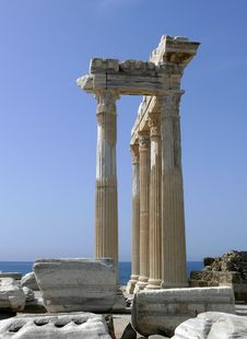 Free Turkey, Side - Apollo Temple Stock Images - 5647824