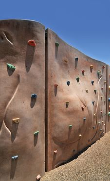 Free Climbing Wall Royalty Free Stock Images - 5647859