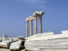 Free Turkey, Side - Apollo Temple Stock Images - 5647874
