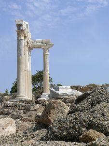 Free Turkey, Side - Apollo Temple Stock Image - 5647931