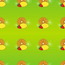 Fruit Seamless Tile Stock Photo