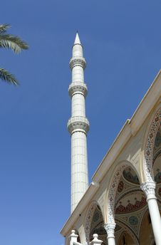 Turkey, Side - Prayer Tower Royalty Free Stock Images
