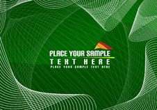 Abstract, Green Background Royalty Free Stock Photos