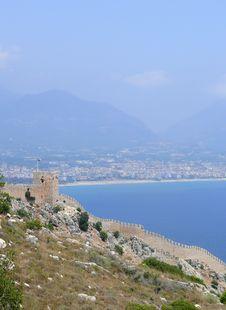 Free Turkey, Alanya Castle Wall Stock Photo - 5648670