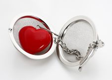 Free Red Heart In Locket Royalty Free Stock Photo - 5648825
