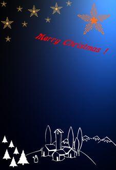 Free Christmas Card Theme 2 Royalty Free Stock Image - 5648966