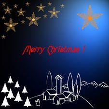 Free Christmas Card Theme 1 Stock Photo - 5648970