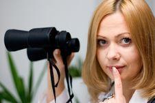 Free Binoculars Stock Image - 5648981