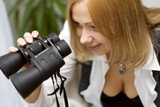 Free Binoculars Stock Photography - 5648992
