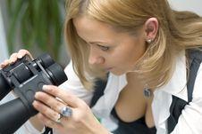 Free Binoculars Stock Photography - 5649002