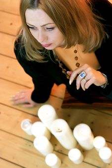 Free Candlelit Stock Photography - 5649112