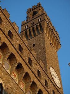 Free Glimpse Of Palazzo Vecchio Royalty Free Stock Photos - 5649248