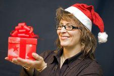 Free Christmas Present Royalty Free Stock Photos - 5649528