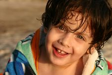 Kid Smiles Royalty Free Stock Photos