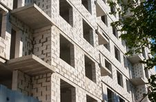 Free Construction Of Apartment Building Stock Photo - 56420220
