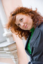Free Redhead Curly Girl Royalty Free Stock Photo - 5651615