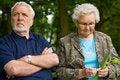 Free Elderly Couple Enjoying Nature Stock Photography - 5652482
