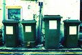 Free Rubbish Bins Royalty Free Stock Photography - 5654627