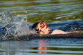 Free The Swimming Boy Royalty Free Stock Photography - 5656917