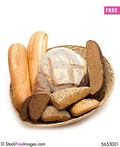 Free Bread Assortment Stock Image - 5653001
