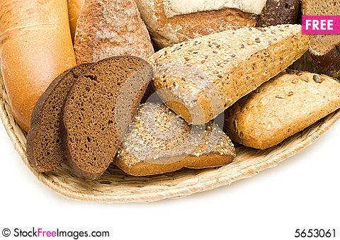 Free Bread Assortment Stock Image - 5653061