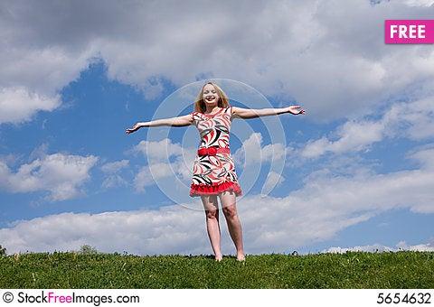 Free Beautiful Girl Stock Photography - 5654632