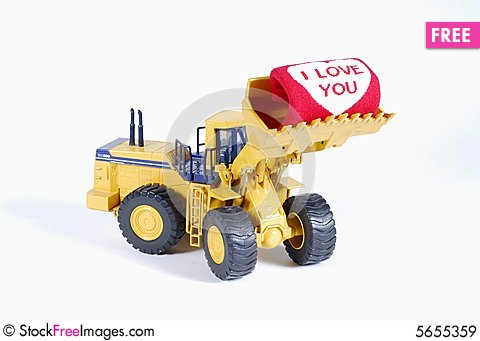 Free Construction In Love Royalty Free Stock Images - 5655359