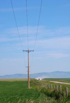 Free Telegraph Poles Stock Photography - 5650302