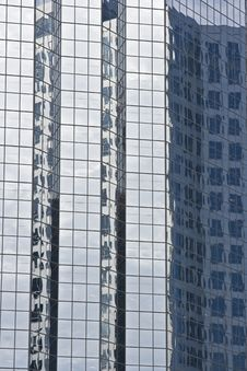 Free Modern Glass Office Buildings With Reflection Stock Photos - 5650473