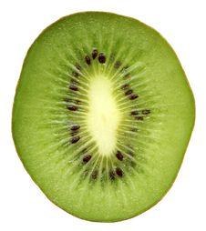Free Close Up Of Kiwi Slice Royalty Free Stock Photo - 5650675