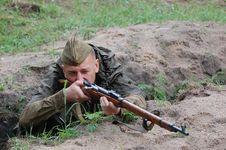 Free Soviet Soldier Stock Photos - 5650863