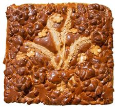 Isolated Ukrainian Festive Bakery Holiday Bread 1 Royalty Free Stock Photo