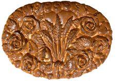 Isolated Ukrainian Festive Bakery Holiday Bread 3 Stock Image
