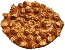 Isolated Ukrainian Festive Bakery Holiday Bread 4 Stock Photos