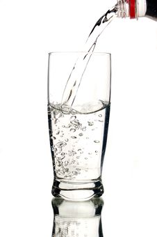 Free A Glass Of Mineral Water Stock Photography - 5651122