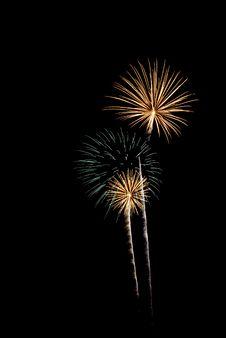 Free Beautiful Fireworks. Royalty Free Stock Image - 5651346