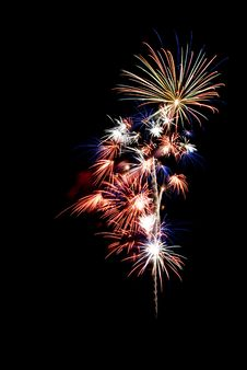 Free Beautiful Fireworks. Royalty Free Stock Photography - 5651357