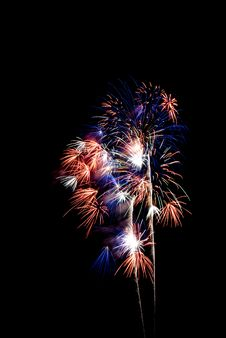Free Beautiful Fireworks. Royalty Free Stock Images - 5651379