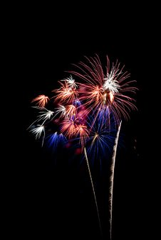 Free Beautiful Fireworks. Stock Images - 5651404