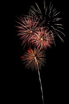 Free Beautiful Fireworks. Royalty Free Stock Photo - 5651505
