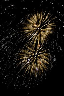 Free Beautiful Fireworks. Royalty Free Stock Photography - 5651627