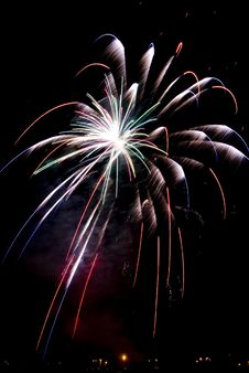 Free Beautiful Fireworks. Royalty Free Stock Photo - 5651725