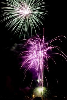 Free Beautiful Fireworks. Stock Photography - 5651762