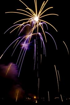 Free Beautiful Fireworks. Stock Photo - 5651770