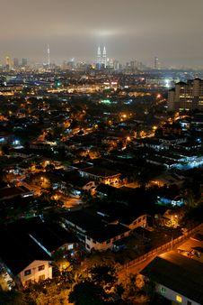 Free Kuala Lumpur Cityscape Royalty Free Stock Photo - 5651785